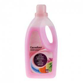 Detergente para ropa de lana y prendas delicadas líquido Carrefour 40 lavados