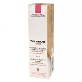 Fondo de maquillaje corrector fluido Nº15 Toleriane La Roche-Posay 30 ml.