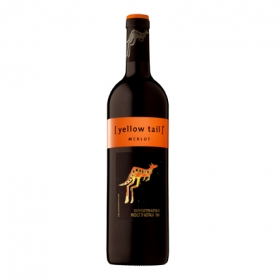 Vino tinto D.O. Australia Yellow Tail 75 cl.