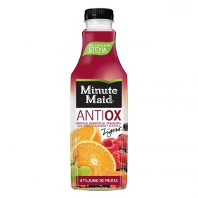 Zumo de frutas Minute Maid Antioxidante con stevia botella 1 l.
