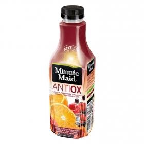 Bebida refrescante Antioxidante de zumo de frutas (Naranja-Frambuesa-Acerola)