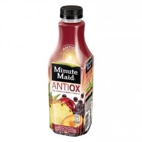 Bebida refrescante Antioxidante de zumo de frutas (Piña-Grosella Negra-Ciruela)