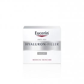 Crema facial rellenador de arrugas Hyaluron Filler para la noche