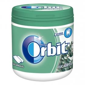 Chicles sabor eucalipto Orbit 60 ud.