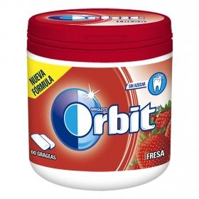 Chicles sabor fresa Orbit 60 ud.
