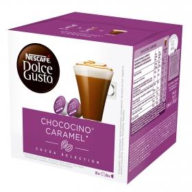 Chocolate a la taza en cápsulas Nescafé-Dolce Gusto 16 unidades de 12,8 g.