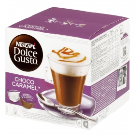 Chocolate con caramelo compatible con Dolce Gusto