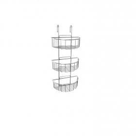 Cestillo de ducha de   15CM  Metalizado