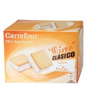 Mini sandwich con nata