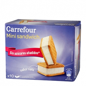 Sandwich sin azúcar