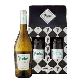 LOTE 98: 2 botellas D.O. Rueda Protos verdejo 75 cl.
