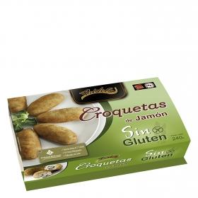 Croquetas de jamón sin gluten
