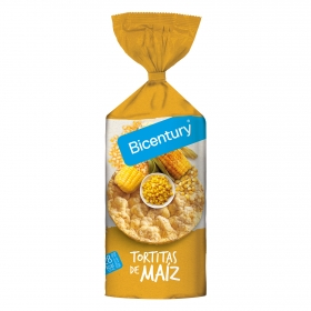 Tortitas de maíz Bicentury 130 g.