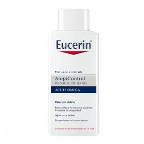 Oleogel de baño Atopicontrol Eucerin 400 ml.