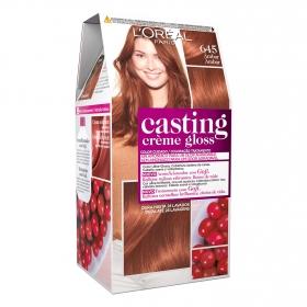 Tinte Créme Gloss nº 645 Ámbar L'Oréal Casting 1 ud.