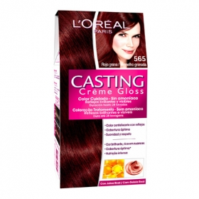 Tinte Créme Gloss nº 565 Rojo Granada L'Oréal Casting 1 ud.