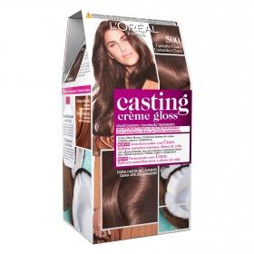 Tinte Créme Gloss nº 500 Castaño Claro L'Oréal Casting 1 ud.
