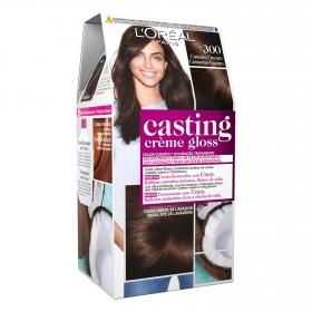 Tinte Créme Gloss nº 300 Castaño Oscuro L'Oréal Casting 1 ud.