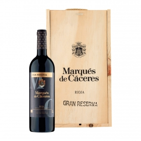 LOTE 66: 2 botellas D.O. Ca. Rioja Marqués de Cáceres tinto gran reservapack de 2 botellas de 75 cl.