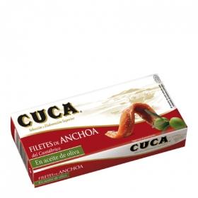 Filetes de anchoa en aceite de oliva