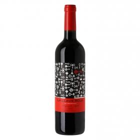 Vino de Extremadura tinto tempranillo Syrah La Llave Roja 75 cl.