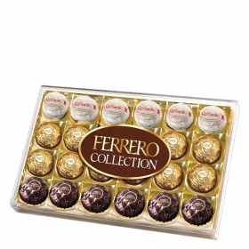 Bombones de chocolate y avellana Collection