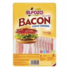 Bacon ahumado lonchas El Pozo 150 g.