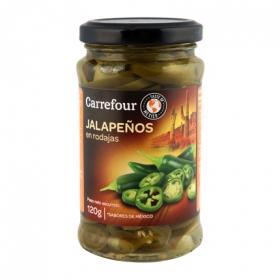 Jalapeños Carrefour en rodajas 290 g.