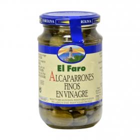 Alcaparrones finos en vinagre El Faro 150 g.