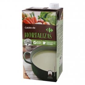 Caldo de hortalizas Carrefour sin gluten 1 l.