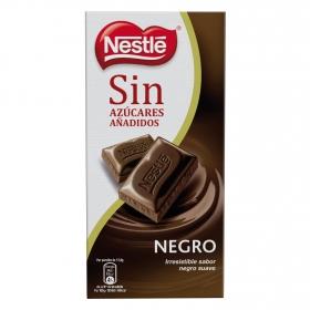 Chocolate negro suave sin azúcar añadido Nestlé 125 g.