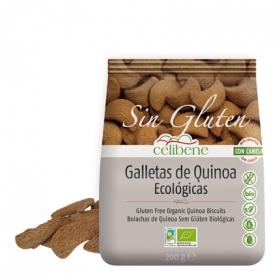 Galletas de quínoa ecológicas con canela - Sin Gluten