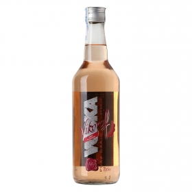 Vodka Vikoroff sabor frambuesa 70 cl.