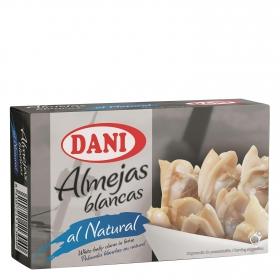 Almejas al natural Dani 63 g.
