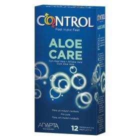 Preservativos con aloe vera care Control 12 ud.