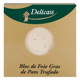 Bloc de foie gras de pato trufado Delicass 40 g.