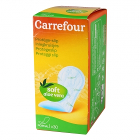 Protegeslip normal aloe vera Carrefour 30 ud.