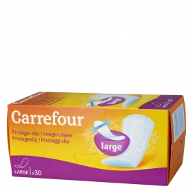 Protegeslip maxi Carrefour 30 ud.
