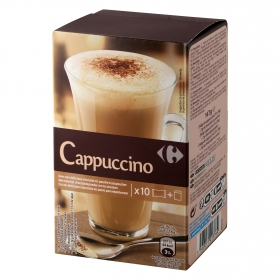Café soluble natural cappuccino