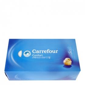 Tissues classic 3 capas Carrefour 110 ud.