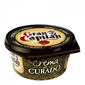 Crema de queso curado