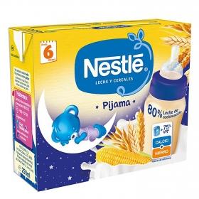 Papilla líquida de 8 cereales Nestlé pack de 2 unidades de 250 ml.