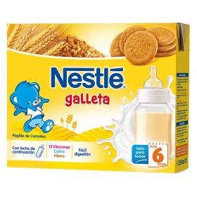Papilla líquida ' Lista para tomar ' con Leche de continuación y Galleta