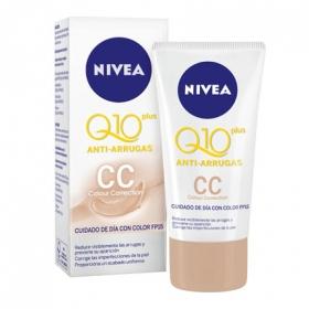 Crema con color CC anti-arrugas