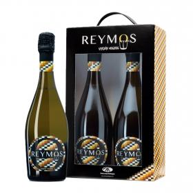 LOTE 97: 2 botellas espumoso Reymos moscatel de alejandría 75 cl.
