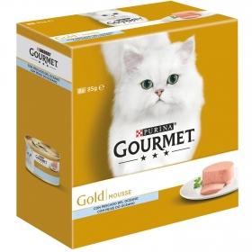 Comida para gatos Mousse Pescado del Oéano Surtido