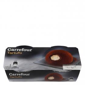 Tartufo Carrefour pack de 2 unidades de 80 g.