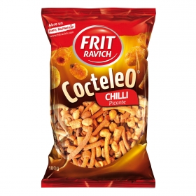 Cocktail de frutos secos picante Frit Ravich 180 g.