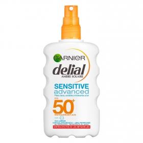 Solar pieles intolerantes al sol FP 50+ Delial 200 ml.