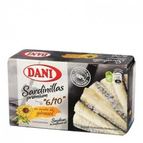 Sardinillas Premium en aceite de girasol